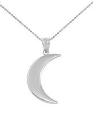 Кулон луна, полумесяц