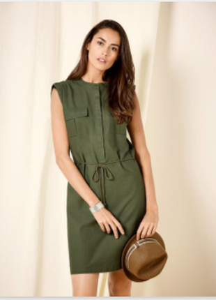 Новое льняное платье от esmara