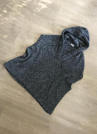 Тёплая жилетка худи безрукавка с капюшоном pimkie, p.m