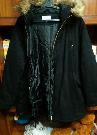 Куртка парка зимняя/зимова
