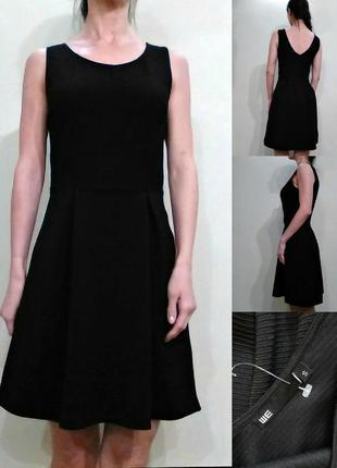Красивое фактурное платье s-m
