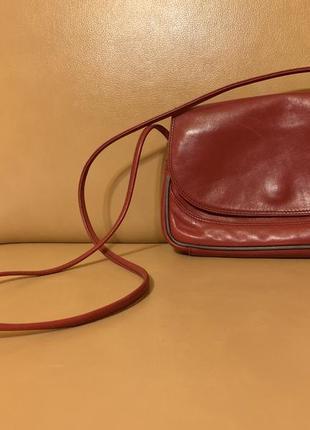 Кожаная сумка italy