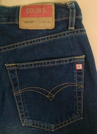 Базовые фирменные джинсы colin`s с высокой посадкой