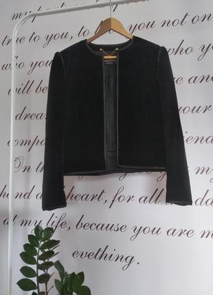 Элегантный велюровый пиджак louis feraund paris
