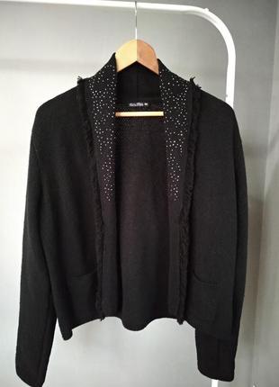 Очень стильный свитер-жакет laura torelli