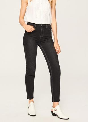 Джинси нові з високою посадкою від reserved h&m джинсы