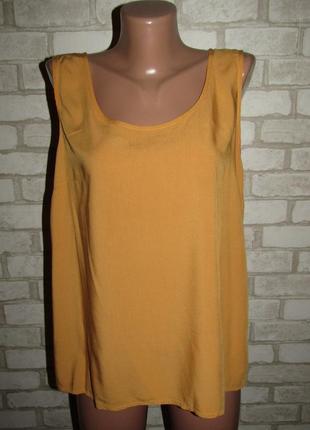 Базовая вискозная блуза р-р 14 бренд only