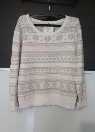 Стильный свитер,джемпер h&m