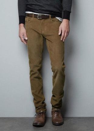 Чоловічі вельветові штани від piazza italia mango мужские вельветы вельветовые штаны брюки