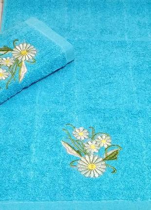 Кухонные махровые полотенца - турция