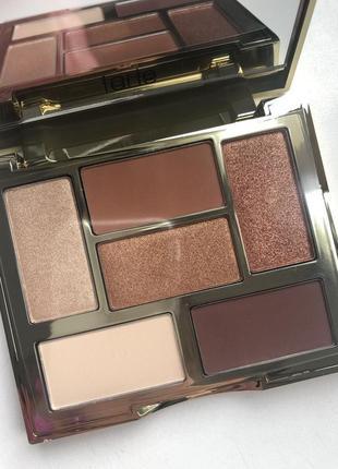 Тени для век tarte glam on the go eyeshadow palette