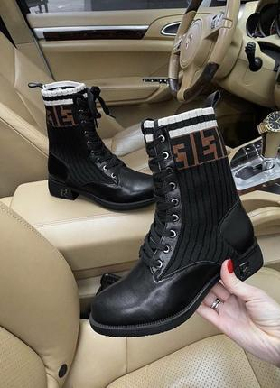 Ботинки фенди