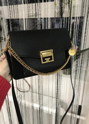 Кожаная сумка сумка кожаная через плечо кроссбоди givenchi