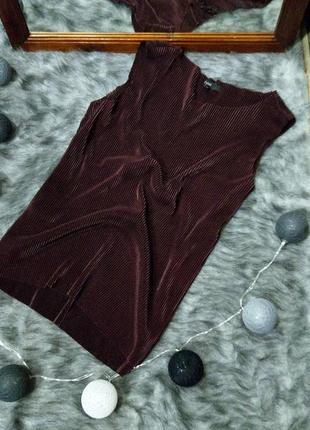 Блуза кофточка топ из плиссировки next
