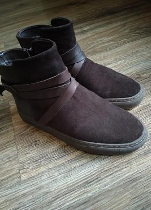 Зимние ботинки на меху navyboot