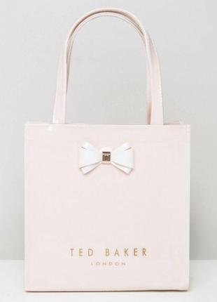 Сумка ted baker , нежно розовая