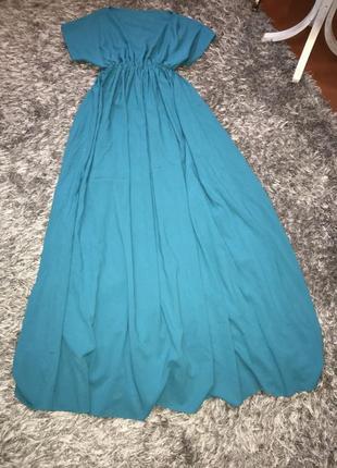 Платье электрик,синие