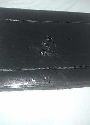 Кожаний чехол для ноутбука kozar