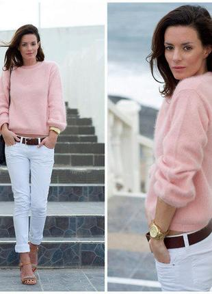 Джемпер*свитер*пуловер*розовый*оверсайз*h&m*