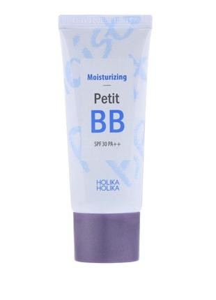 Holika holika moisturizing petit bb cream, тональный крем