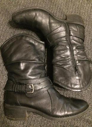 Shilton ботинки сапожки кожаные