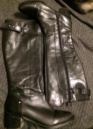 Dorothy perkins сапоги сапожки кожаные