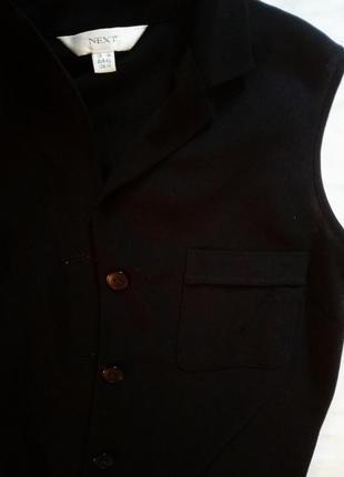 Чёрный кардиган next, размер с-м