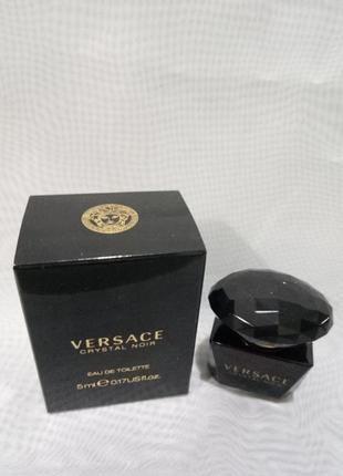 Versace cristal noir 5мл женская туалетная вода.оригинал