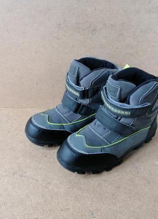 Сапоги ботинки термо walkx tentex на липучках для мальчика