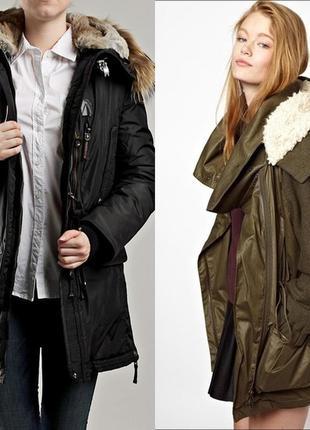 Зимняя куртка парка zara