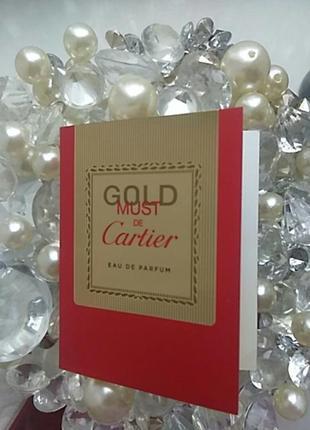 Пробник cartier gold