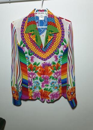 Шёлковая рубашка, блуза escada margaretha ley
