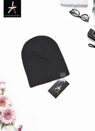 Черная шапка atmosphere