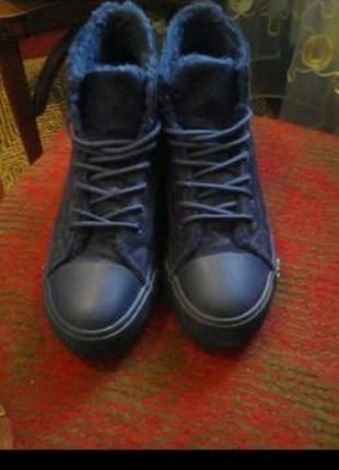 Новые! стильные зимние ботинки р. 39