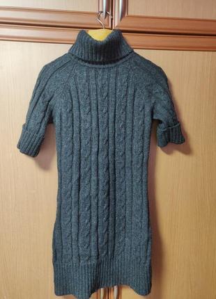 Ооочень теплое стильное  платье -туника