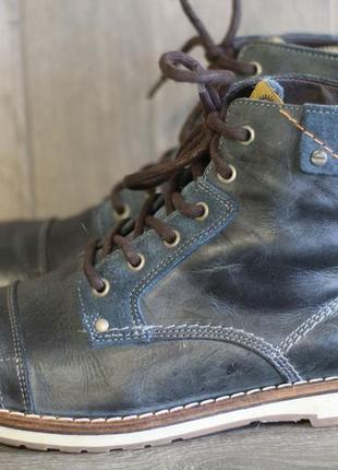 Ботинки демисезонные нат. кожа bb footwear & co 45 разм