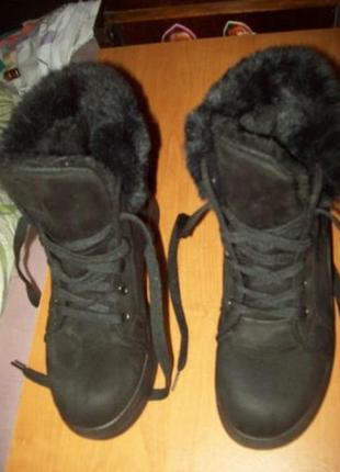 Зимние ботинки р. 37 новые