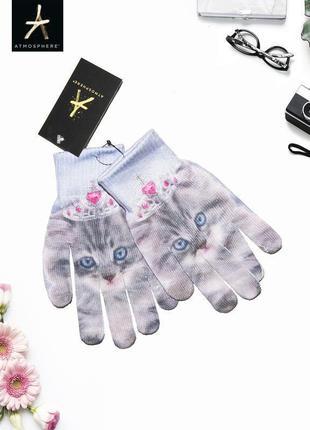 Новые перчатки с котиками atmosphere