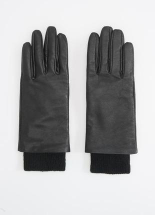 Кожаные перчатки 2 в 1 premium quality reserved оригинал р.l