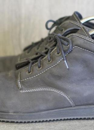 Утепленные ботинки roflex  46-47. нат. нубук