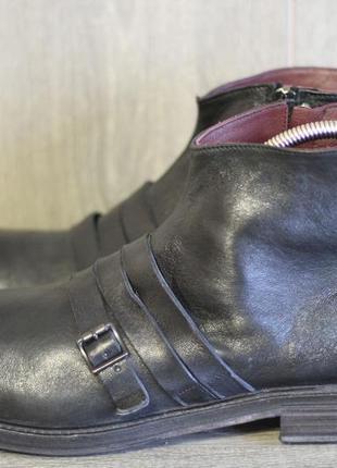 Стильные ботинки из натуральной кожи venezia премиум класса италия 45-46