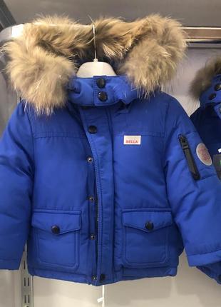 Зимняя куртка для мальчика 💙❄️