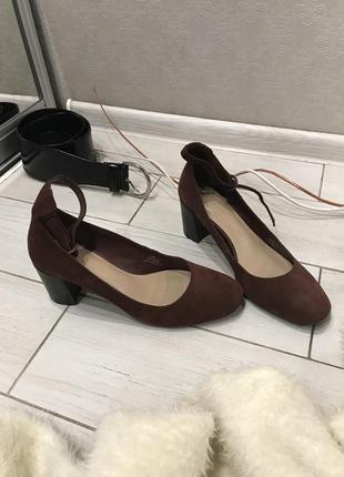 Идеальные, кожаные туфли от m&s