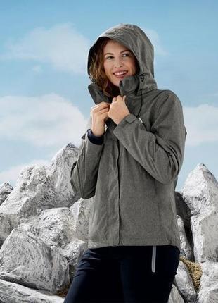 Куртка 3в1 всепогодная р.евро 36 38 s мембрана 3000мм crivit германия