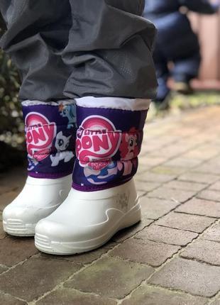 Дутики сапоги зимние ботинки/ шерсть! очень классные