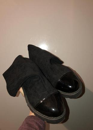 Ботинки-носки zara