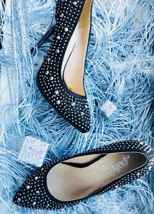 Наряднейшие чёрные туфли/ акционная цена