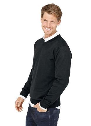 Пуловер из шерсти мериноса. tchibo. германия. размеры xl