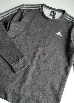 Adidas теплый свитшот мужской