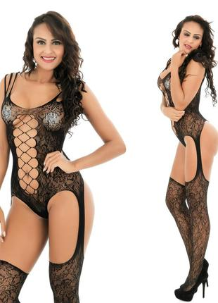 Бодисьют сексуальная боди-сетка сексуальное белье арт. 544